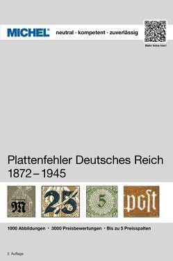 MICHEL Plattenfehler Deutsches Reich von MICHEL-Redaktion