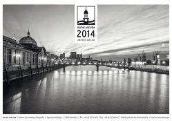 michel und elbe Kalender 2014 – Schwarzweiss von Schmidt-Wiethoff,  Andreas