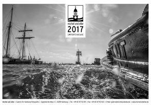 michel und elbe Kalender 2017 – Schwarzweiss von Schmidt-Wiethoff,  Andreas