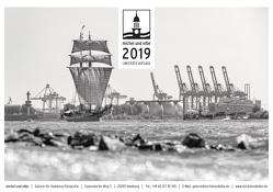michel und elbe Kalender 2019 – Schwarzweiss von Schmidt-Wiethoff,  Andreas