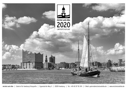 michel und elbe Kalender 2020 – Schwarzweiss von Schmidt-Wiethoff,  Andreas