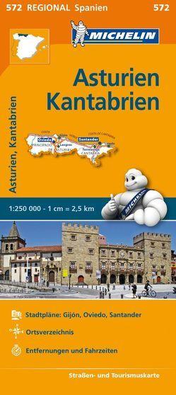 Michelin Asturien, Kantabrien