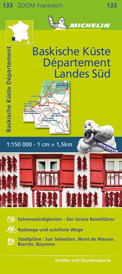 Michelin Baskische Küste – Das Departement Landes Süd