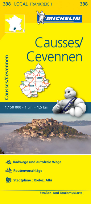Michelin Causses – Cevennen