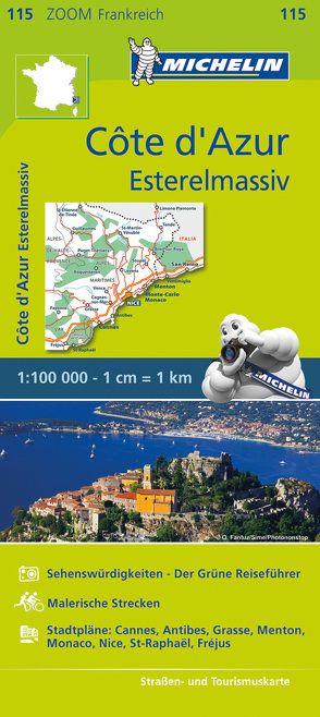 Michelin Côte d'Azur – Esterelmassiv von MICHELIN