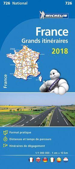 Michelin Frankreich Fernrouten 2018