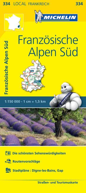 Michelin Französische Alpen Süd