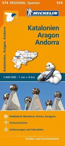 Michelin Katalonien, Aragon, Andorra