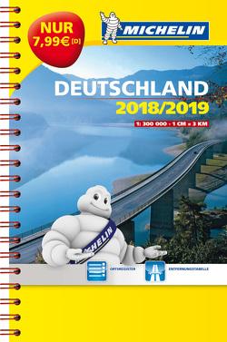 Michelin Kompaktatlas Deutschland 2018/2019