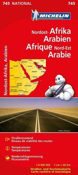 Michelin Nordost-Afrika, Arabien