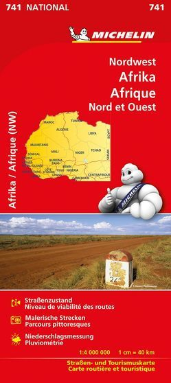 Michelin Nordwest-Afrika