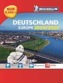 Michelin Straßenatlas Deutschland & Europa 2020/2021