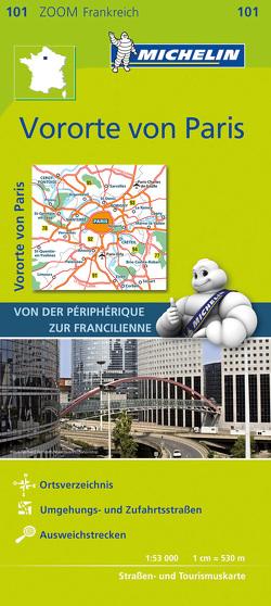 Michelin Vororte von Paris von MICHELIN