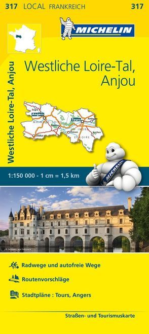 Michelin Westliches Loiretal – Anjou