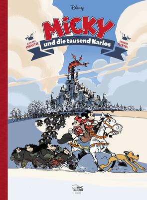 Micky Maus im Mittelalter von Cornette,  Jean-Luc, Disney,  Walt, Martin,  Thierry, Pröfrock,  Ulrich
