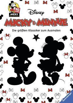 Micky und Minnie – Die größten Klassiker zum Ausmalen von The Walt Disney Company