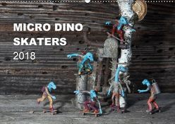 Micro Dino Skaters 2018 (Wandkalender 2018 DIN A2 quer) von (Deivis Slavinskas),  DSLAV