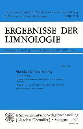 Microalgae for Food and Feed von Binsack,  Rudolf, Soeder,  Carl J