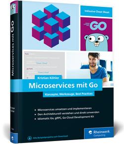 Microservices mit Go von Köhler,  Kristian