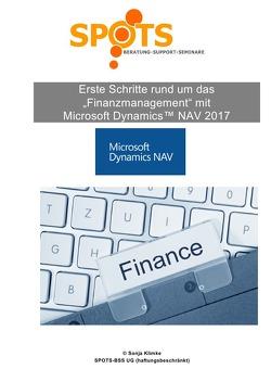 Microsoft Dynamics™ NAV2017 / Erste Schritte rund um Finanzwesen mit Microsoft® Dynamics™ NAV2017/Bd. 6 von Klimke,  Sonja