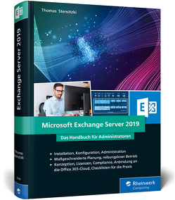 Microsoft Exchange Server 2019 von Stensitzki,  Thomas