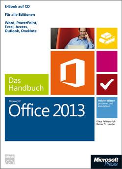Microsoft Office 2013 – Das Handbuch von Fahnenstich,  KLaus, Haselier,  Rainer G.