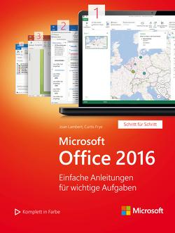 Microsoft Office 2016 (Microsoft Press) von Frye,  Curtis, Haselier,  Rainer G., Lambert,  Joan
