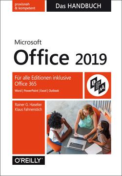 Microsoft Office 2019 – Das Handbuch von Fahnenstich,  KLaus, Haselier,  Rainer G.