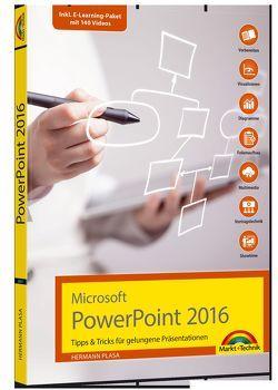 Microsoft PowerPoint 2016 – Tipps & Tricks für gelungene Präsentationen von Plasa,  Hermann