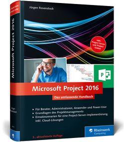 Microsoft Project 2016 von Rosenstock,  Jürgen