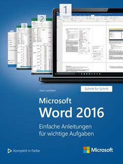 Microsoft Word 2016 (Microsoft Press) von Johannis,  Detlef, Lambert,  Joan