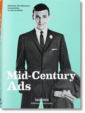 Mid-Century Ads von Heimann,  Jim, Heller,  Steven