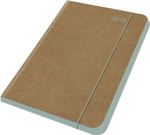 Midi Flexi Diary ColourLine JADE 2018