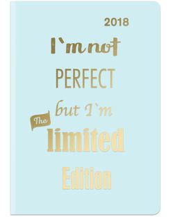Midi Flexi Diary GlamLine NOT PERFECT 2018