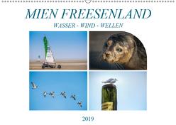 MIEN FREESENLAND – Wasser, Wind, Wellen (Wandkalender 2019 DIN A2 quer) von Gödecke,  Dieter