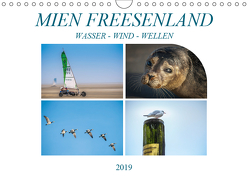 MIEN FREESENLAND – Wasser, Wind, Wellen (Wandkalender 2019 DIN A4 quer) von Gödecke,  Dieter