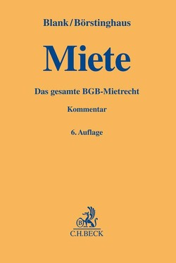 Miete von Blank,  Hubert, Börstinghaus,  Ulf P.