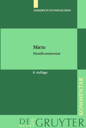 Miete von Emmerich,  Volker, Haug,  André, Rolfs,  Christian, Sonnenschein,  Jürgen, Weitemeyer,  Birgit