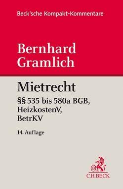 Mietrecht von Gramlich,  Bernhard