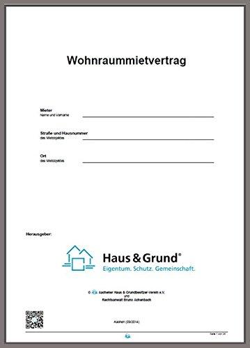 Mietvertrag Für Wohnungen Eigentumswohnungen Und Einfamilienhäuser