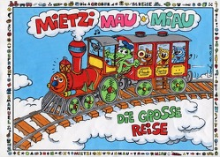 Mietzi, Mau und Miau Die große Reise Katzengeschichten von Etzensperger,  Tomé Thomas