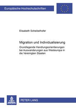 Migration und Individualisierung von Scheibelhofer,  Elisabeth