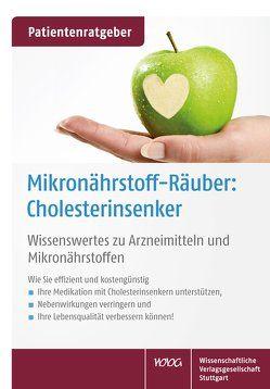 Mikronährstoff-Räuber: Cholesterinsenker von Gröber,  Uwe, Kisters,  Klaus