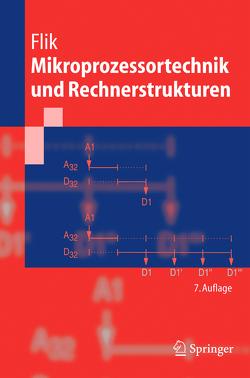 Mikroprozessortechnik und Rechnerstrukturen von Flik,  Thomas, Liebig,  H., Menge,  M.