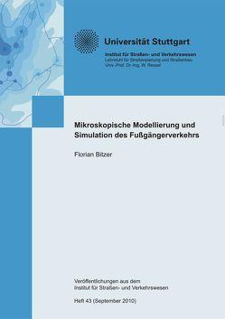 Mikroskopische Modellierung und Simulation des Fußgängerverkehrs von Bitzer,  Florian