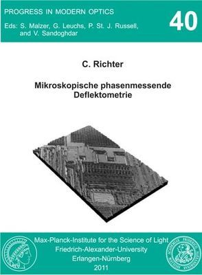 Mikroskopische phasenmessende Deflektometrie von Richter,  Claus
