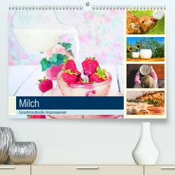 Milch 2020. Geschmackvolle Impressionen (Premium, hochwertiger DIN A2 Wandkalender 2020, Kunstdruck in Hochglanz) von Lehmann (Hrsg.),  Steffani