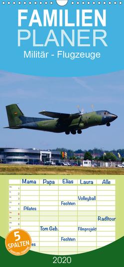 Militär – Flugzeuge – Familienplaner hoch (Wandkalender 2020 , 21 cm x 45 cm, hoch) von Heilscher,  Thomas