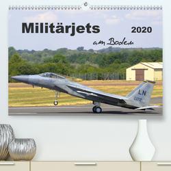 Militärjets am Boden (Premium, hochwertiger DIN A2 Wandkalender 2020, Kunstdruck in Hochglanz) von MUC-Spotter