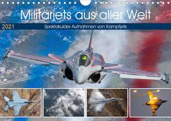 Militärjets aus aller Welt (Wandkalender 2021 DIN A4 quer) von Breidenstein,  Timo